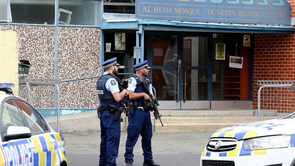 Heddlu ger Huda Mosque, Christchurch