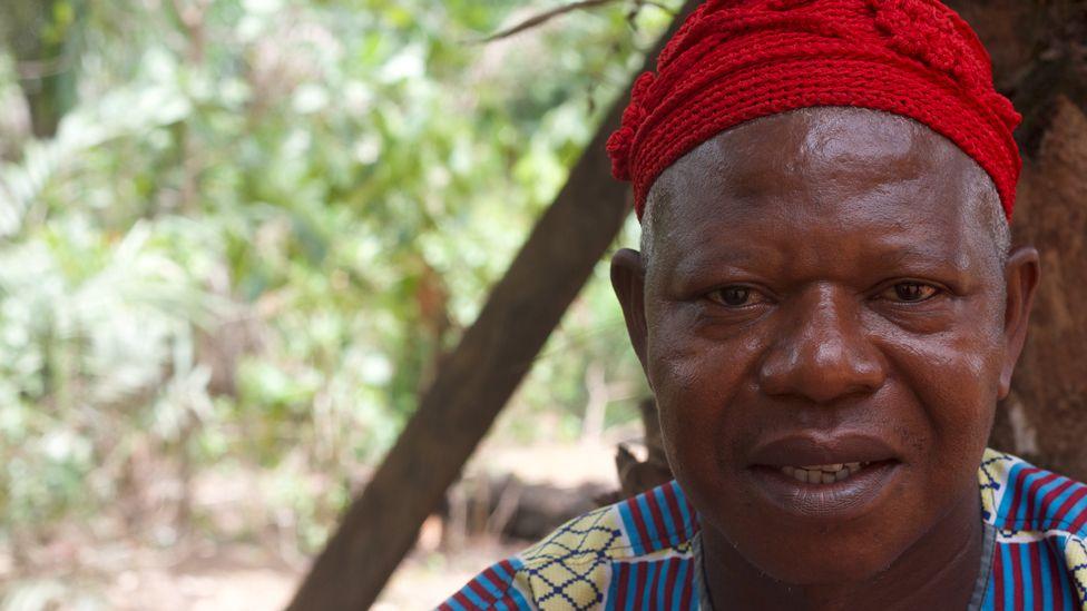 Chief Oliver Ibang.