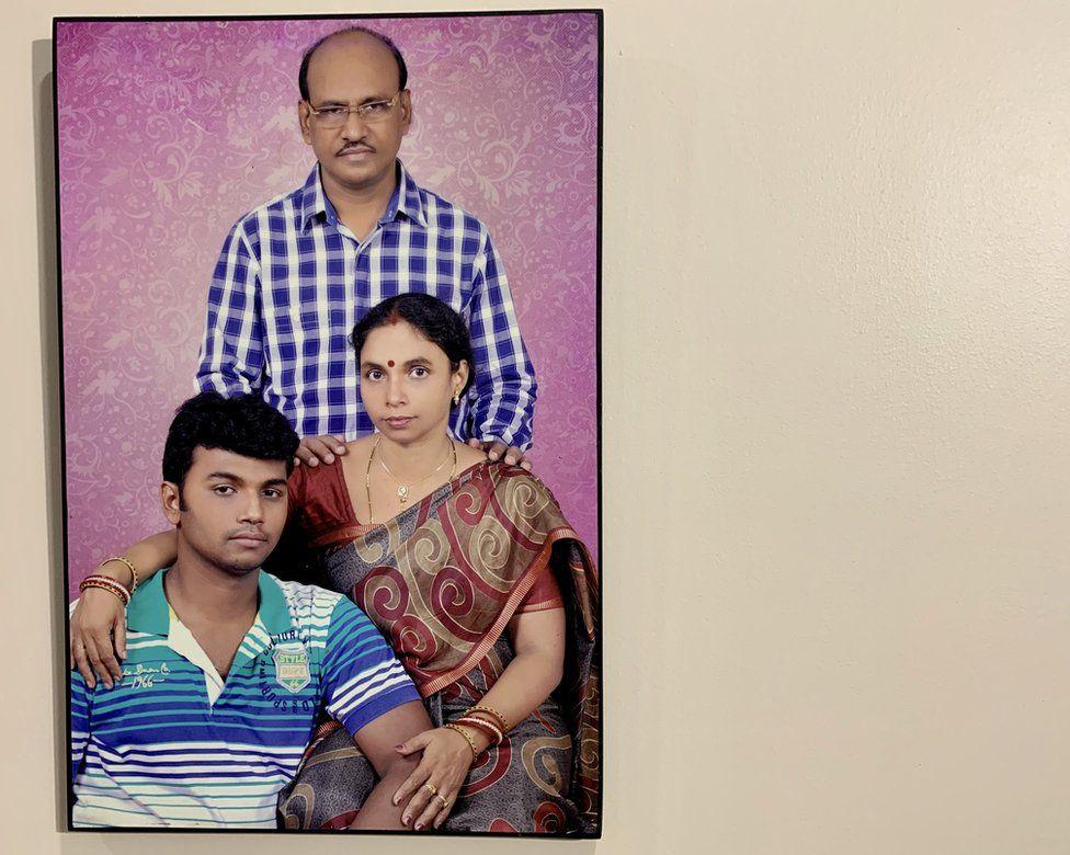 Retrato de la familia Choudhury