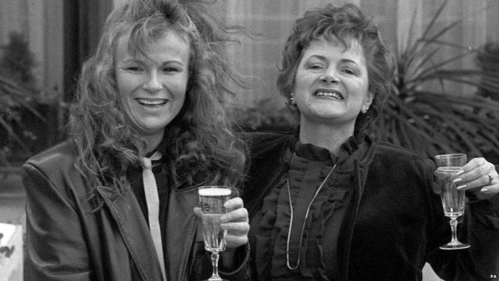 Julie Walters and Cynthia Payne