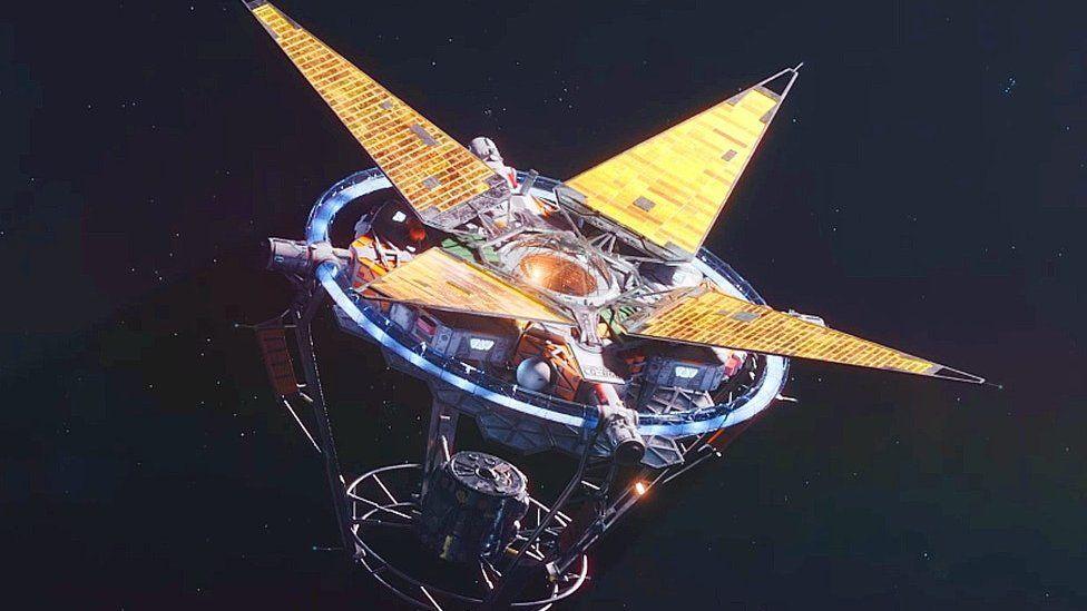 Starfield space ship