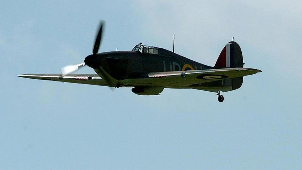 A Hawker Hurricane plane