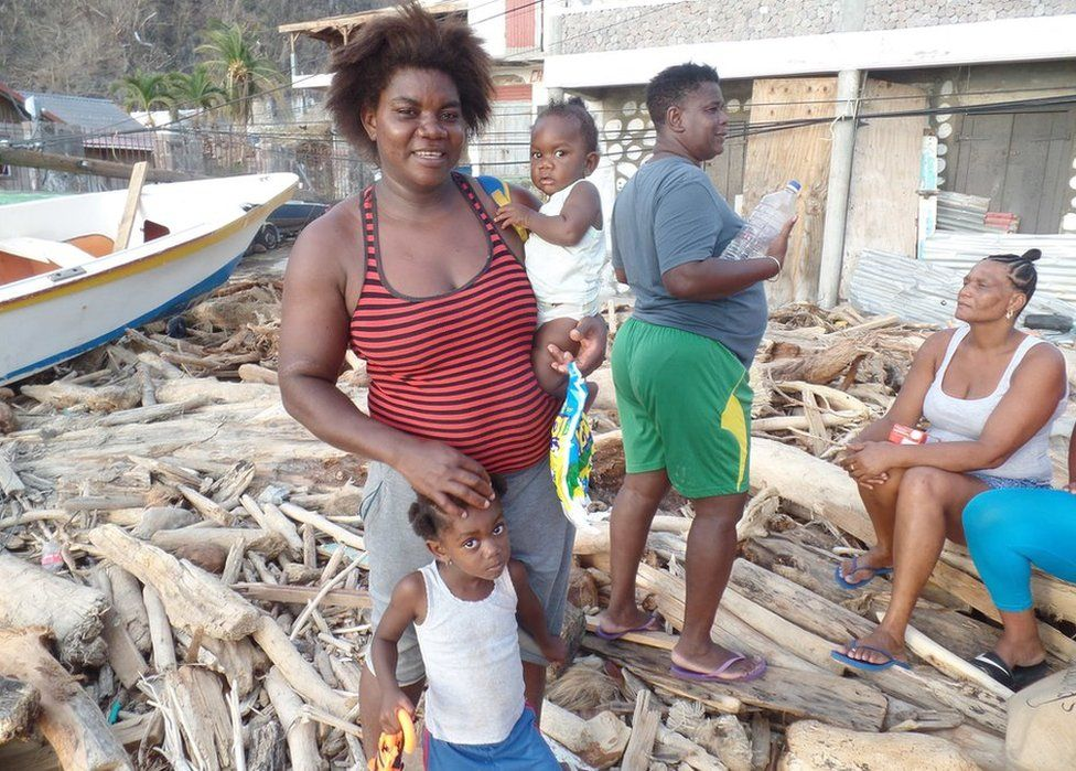 Soufriere mother-of-six Anne-Marie Williams says her children are going hungry