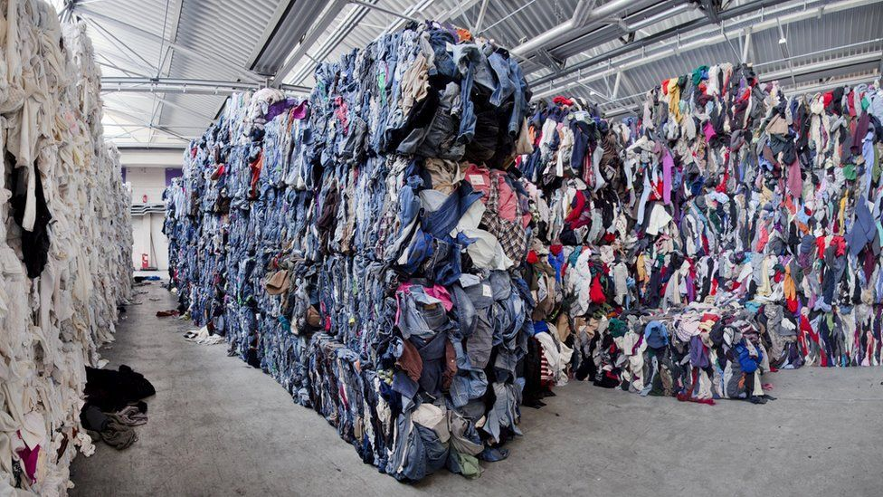 a2b8d462d4d0 Fast fashion  Inside the fight to end the silence on waste - BBC News