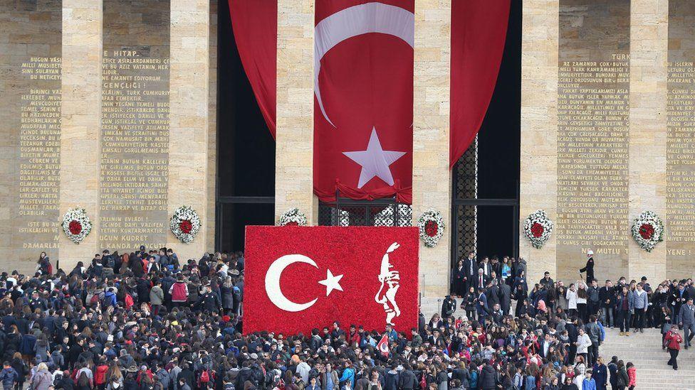 Commemorations in Ankara for the anniversary of Ataturks death