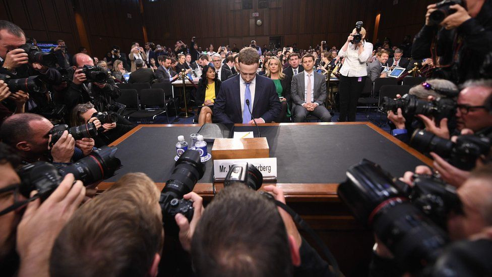 Mark Zuckerberg was forced to testify before the US Congress