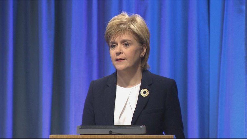 Nicola Sturgeon said Scotland had a moral obligation to help