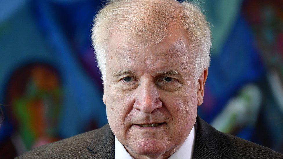 Horst Seehofer on 11 July
