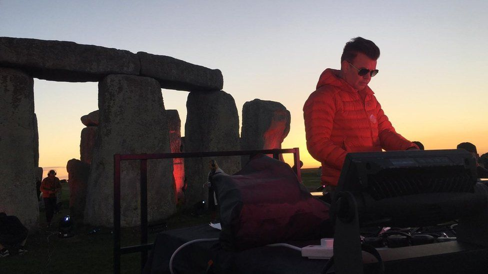 Paul Oakenfold at Stonehenge