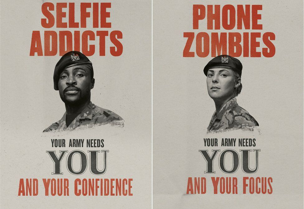 British Army recrtuiment posters