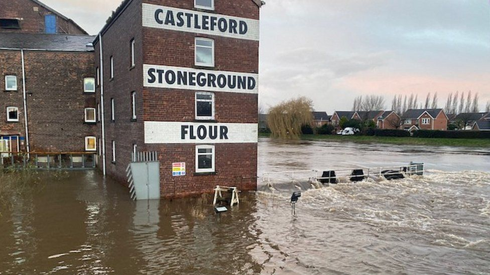 River in Castleford