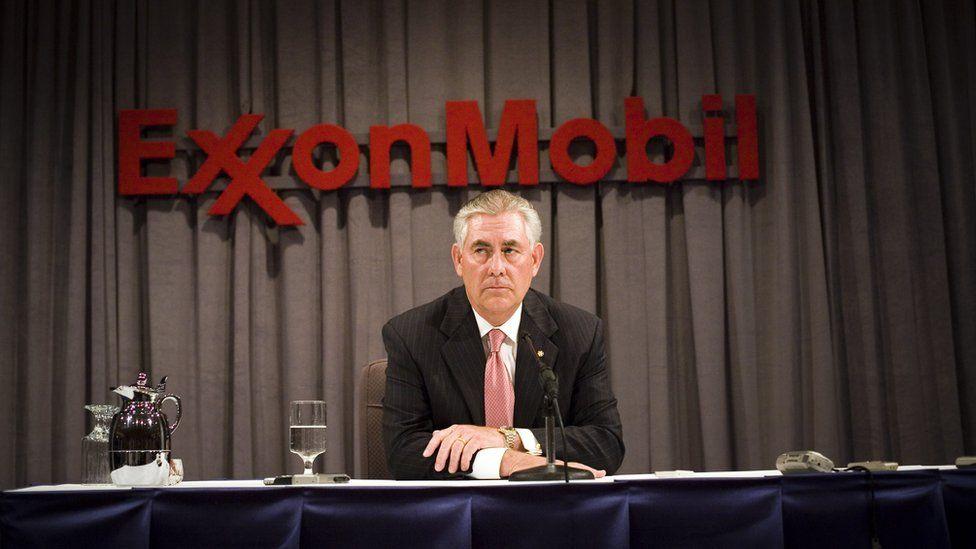 Former Exxon boss Rex Tillerson