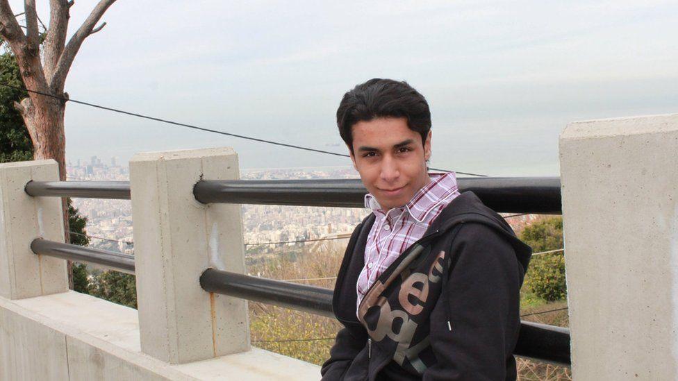File photo showing Ali al-Nimr