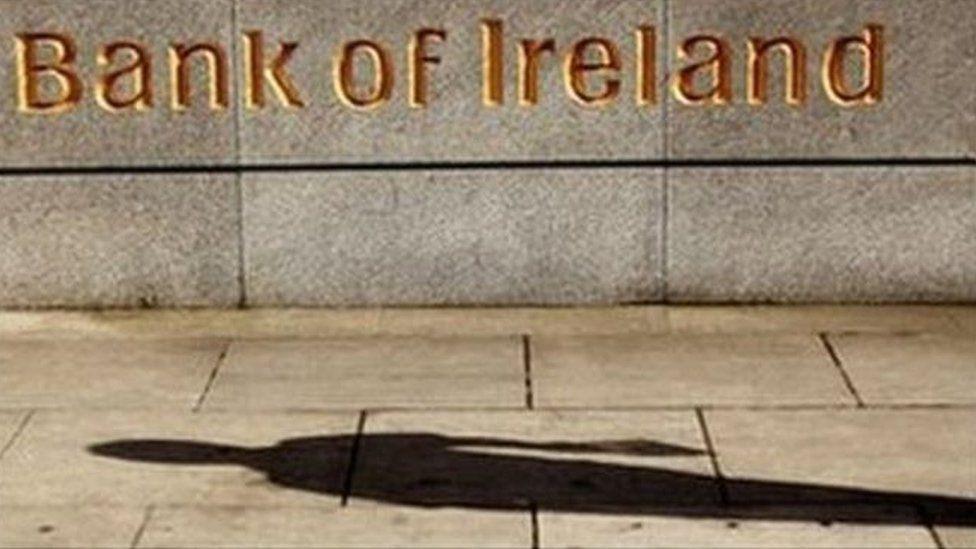 Bank of Ireland sign