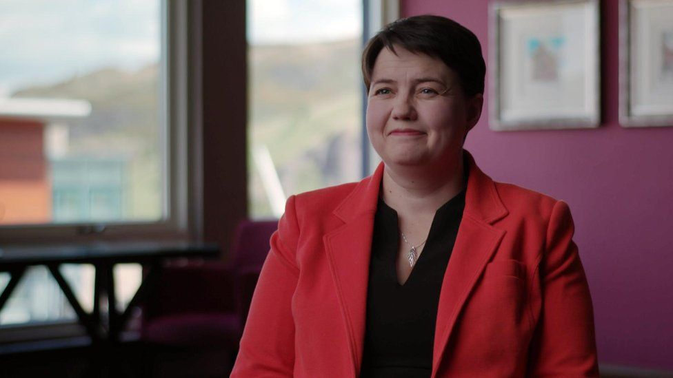 Scottish Conservative leader Ruth Davidson told supporters to hold their nerve