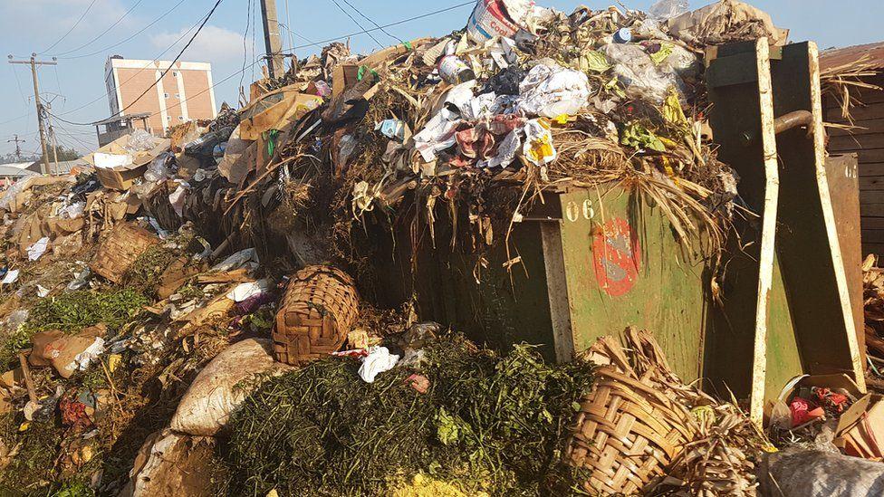 Rubbish in Bamenda