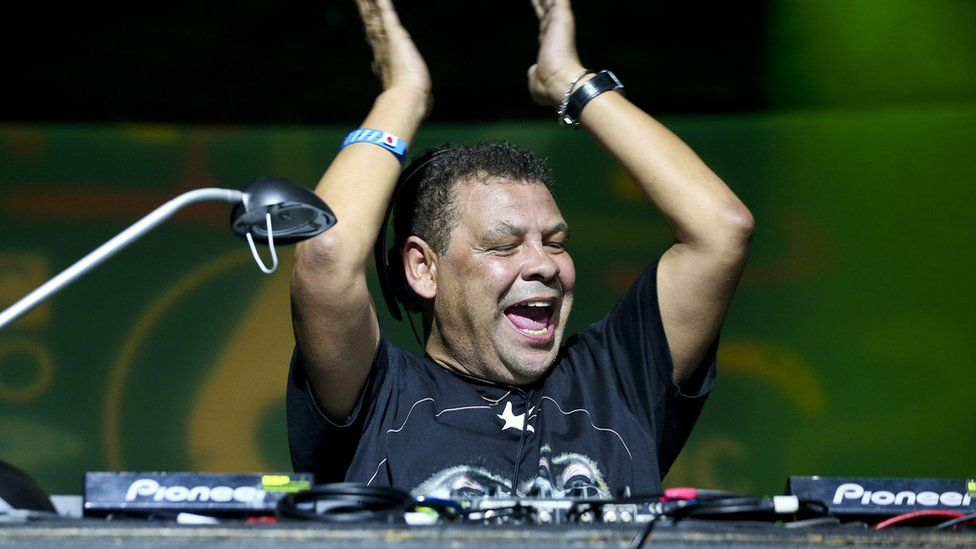 Craig Charles DJ'd at the 6 Music Festival in Glasgow in 2017