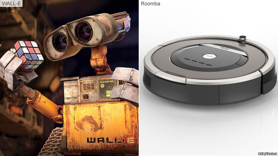Wall-E and Roomba