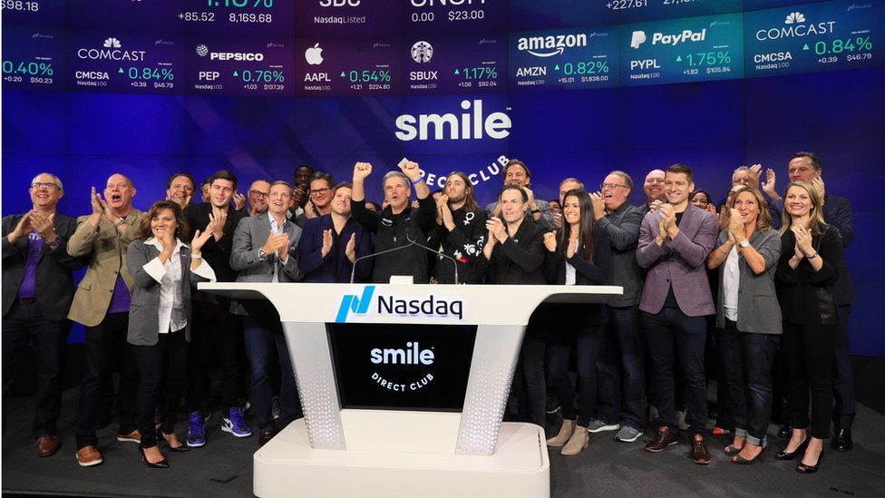SmileDirect Club: The $8bn braces firm boosted by selfies