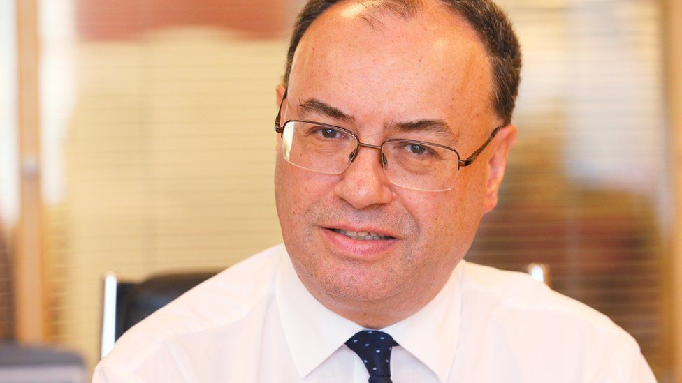 Andrew Bailey, head of the Financial Conduct Authority