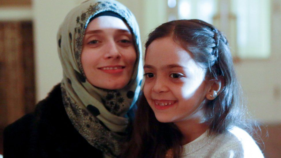 Fatemah al-Abed and Bana al-Abed