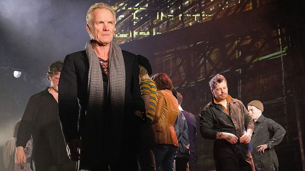 Sting and The Last Ship cast members