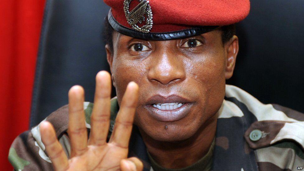 Captain Moussa Dadis Camara in September 2009