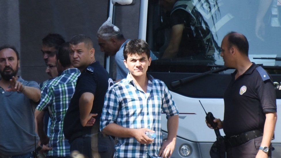 Soldiers accused of involvement in Turkey's coup appear in court