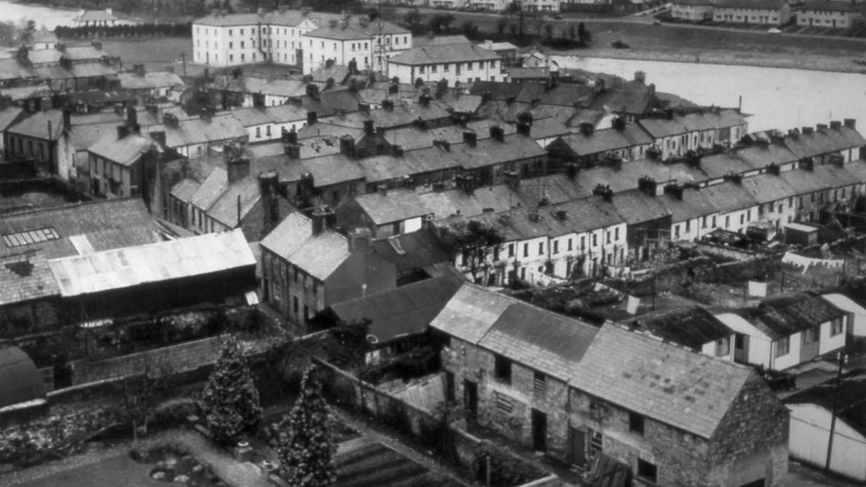 The town of Enniskillen has a unique place in WWI history