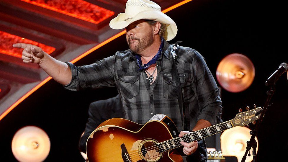 Toby Keith performs during the 2016 American Country Countdown Awards at The Forum on May 1, 2016 in Inglewood, California.