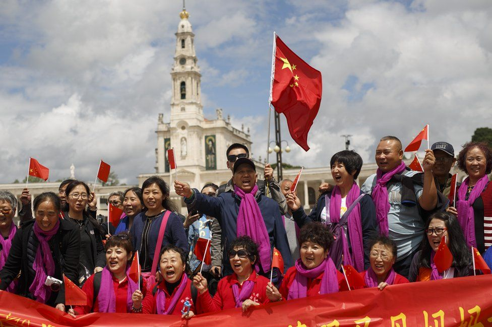 Worshippers from China, 12 May 17