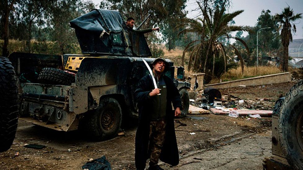Mosul University was fought over during the battle for the city