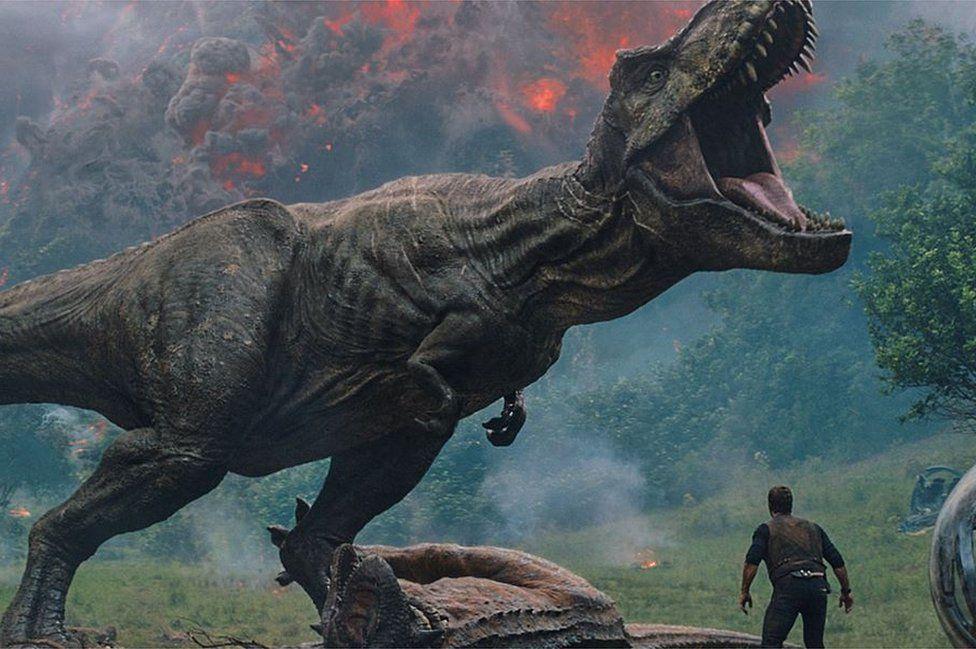 Still from Jurassic World: Fallen Kingdom