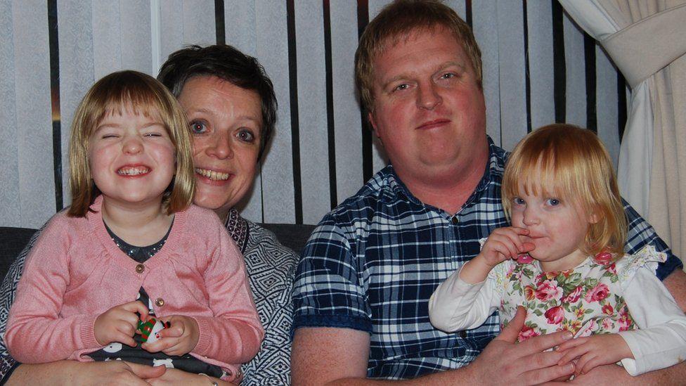 Anna, Honour, Paul and Monica
