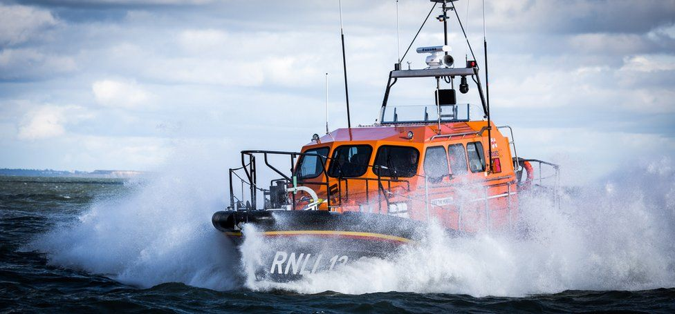 Dungeness RNLI's Shannon class lifeboat