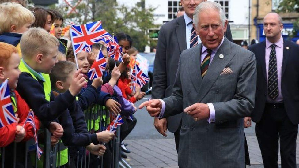 Prince Charles in Northumberland