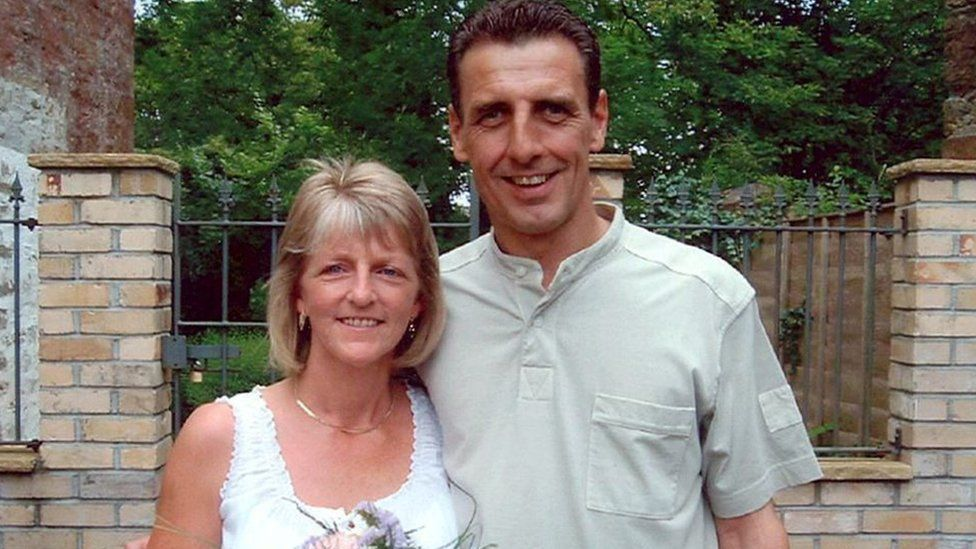 Stephen Mellor and his wife Cheryl