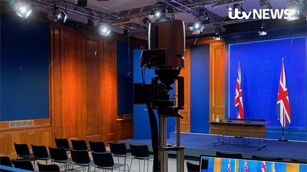 Downing Street briefing room