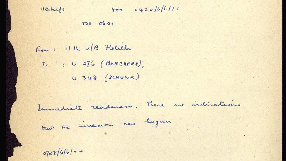 Bletchley Park reveals decrypted Nazi D-Day messages