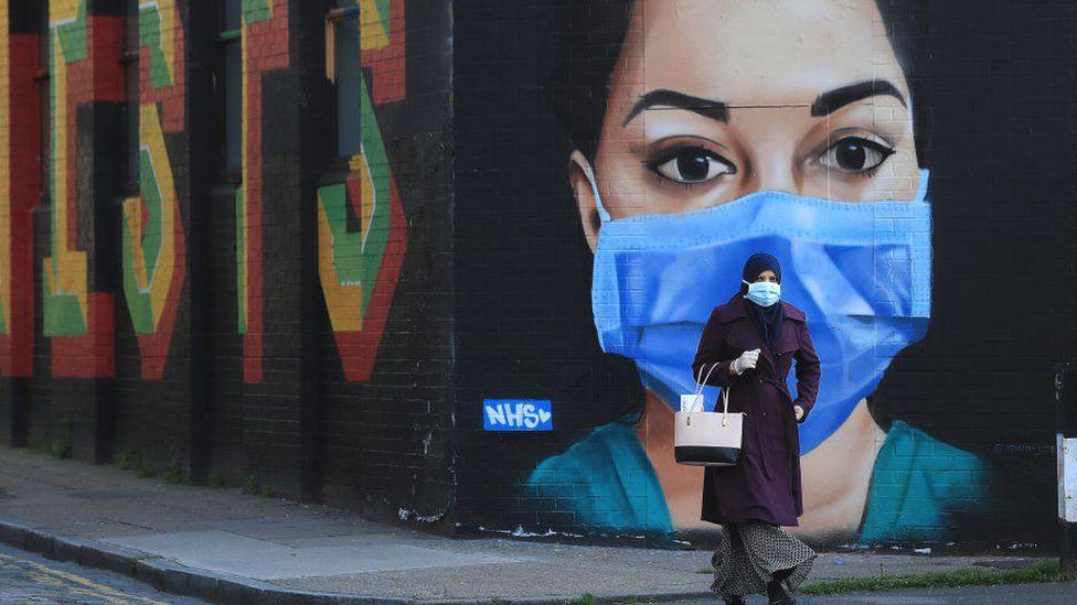 Mural, East London