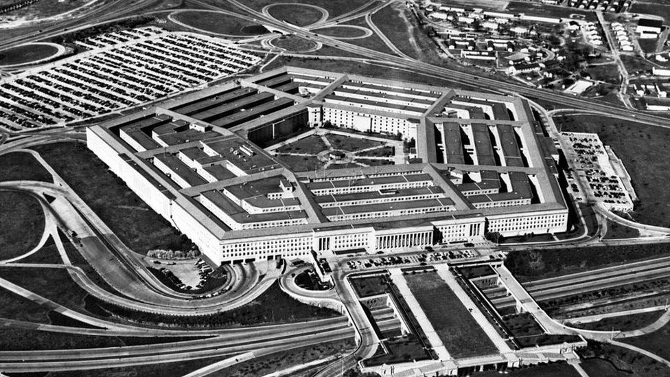The Pentagon, pictured in the 1960s