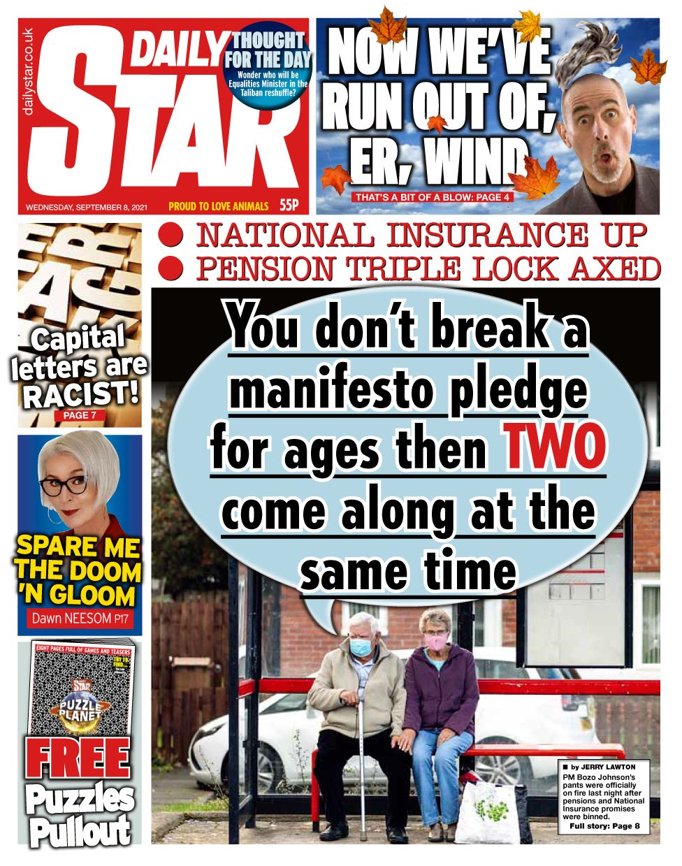 Would you be willing to pay more NI or tax to fund the NHS and social care? _120430591_star0809