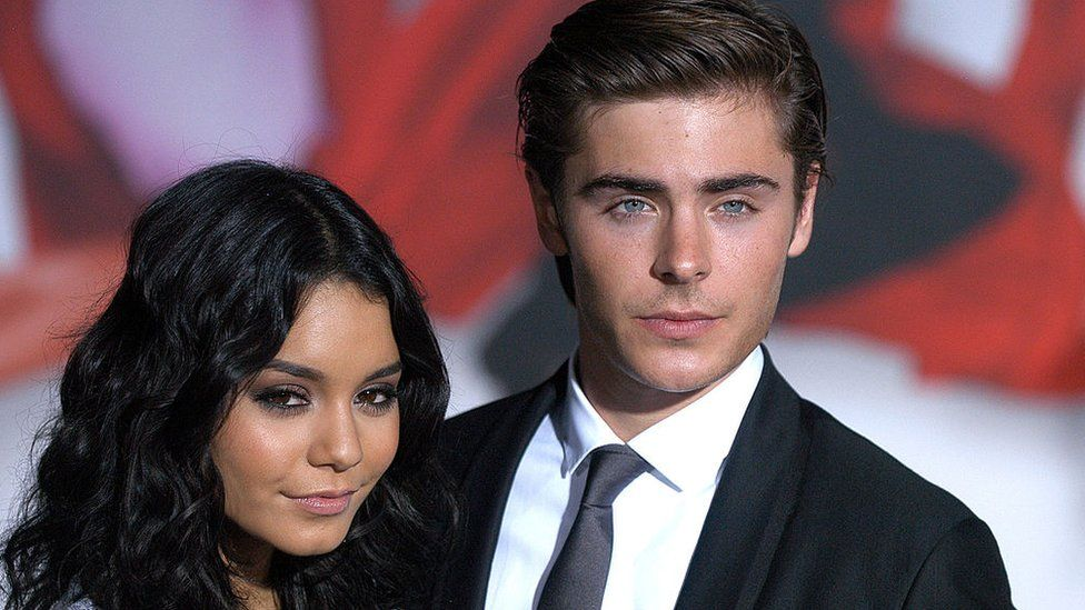 Vanessa Hudgens and Zac Effron pictured in 2008