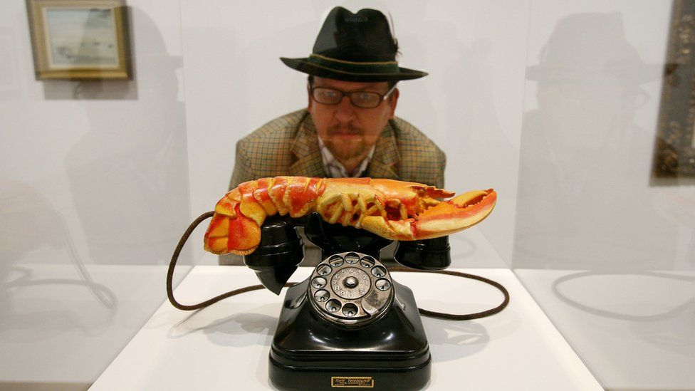Salvador Dali's lobster telephone