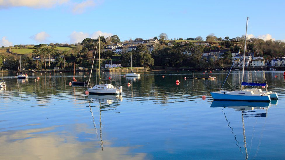 The river at Penryn