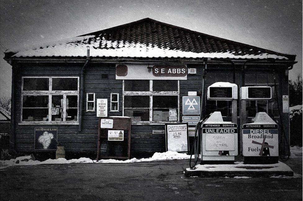 Garage in Reepham