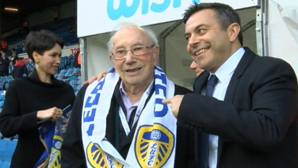 Honour for Leeds United fan Heinz Skyte who fled Nazis