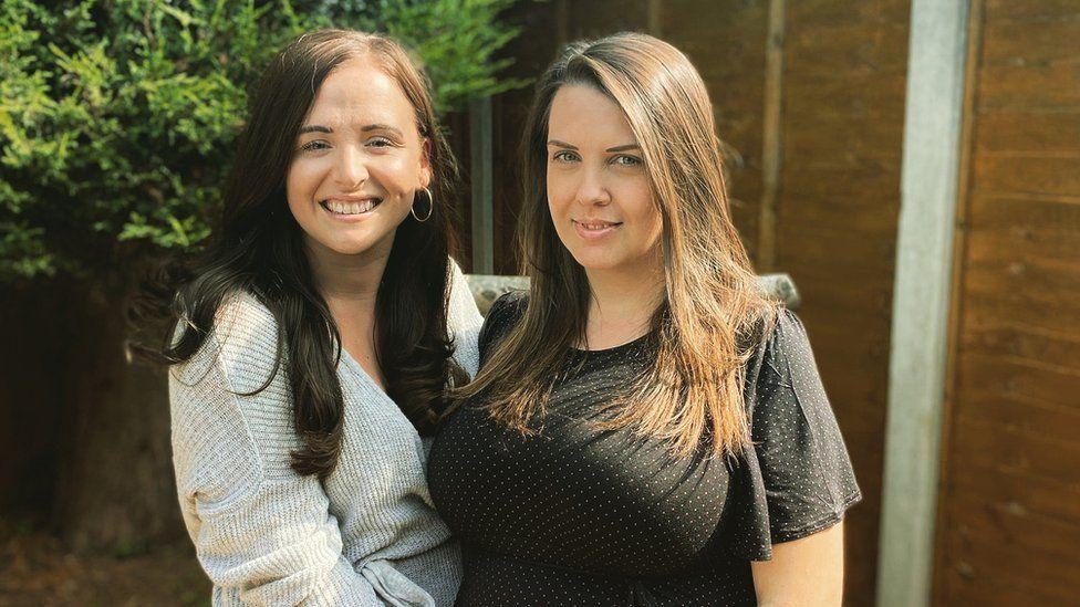 Sophie Tristram and Emma Graves