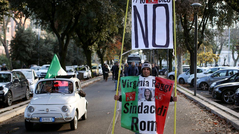 No campaigner in Rome - 26 November
