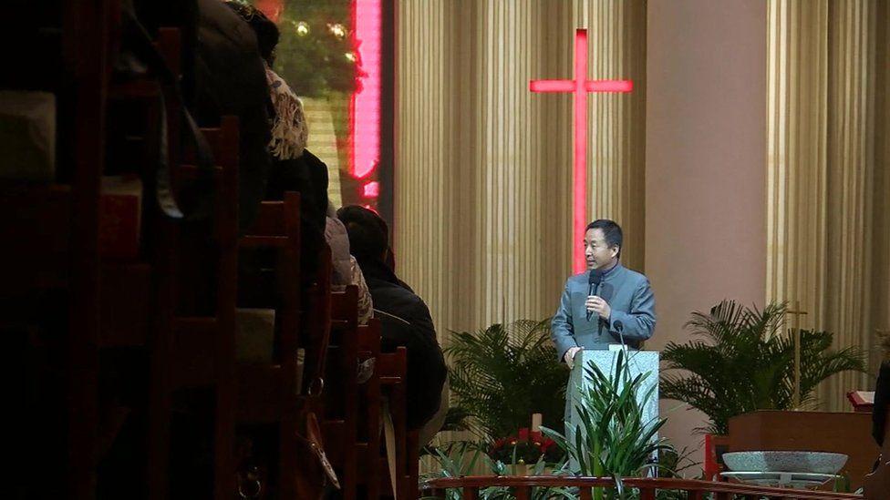 Pastor Wu Weiqing from Beijing's Haidian Church